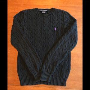 Ralph Lauren Sport cableknit sweater